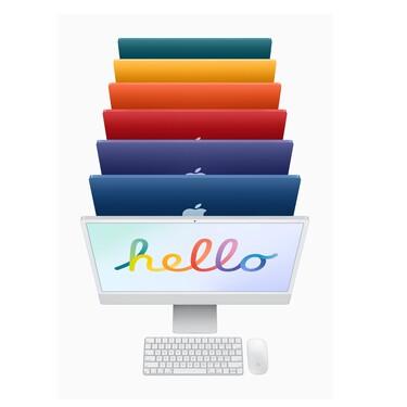 Nueva iMac con chip M1: Apple renueva su legendaria computadora de escritorio con delgadísimo perfil y muchos colores