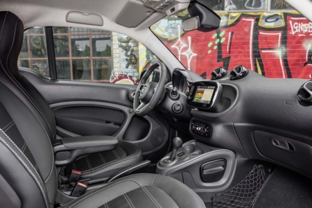 Smart ForTwo Electric Interior