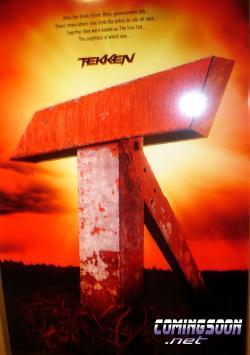 Primer póster de la película de 'Tekken'
