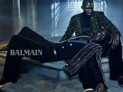En su última campaña Balmain explora los lazos existentes entre hermanos