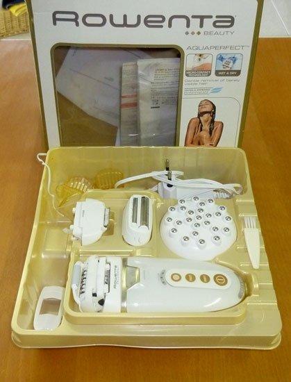 Aquaperfect Massage de Rowenta, la depiladora que usas bajo la ducha. Pros y contras