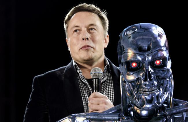 Elon Musk Robot