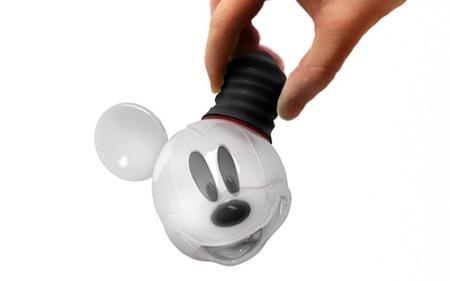 La bombilla Mickey Mouse, divertida y original