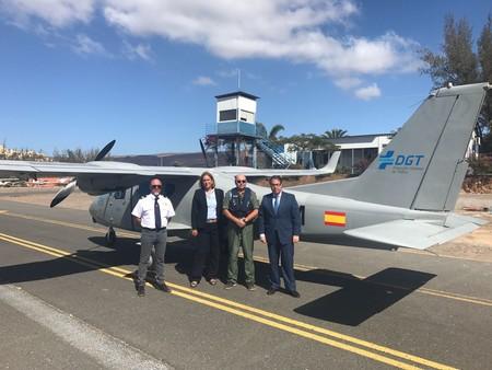 Prueba Piloto DGT Aeronave Las Palmas 2