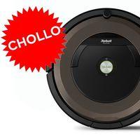 Chollazo: en eBay, con el cupón PEBAYDAYS, un robot aspirador como el Roomba 896 sólo te costará 255,55 euros