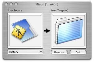 Micon: Cambiar iconos de forma sencilla