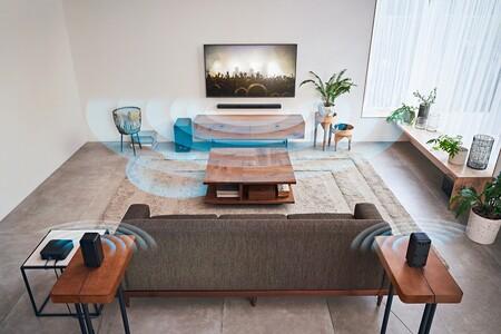 Sony presenta el HT-S40R, un conjunto de cine en casa 5.1 con barra de sonido, altavoces traseros y subwoofer inalámbricos