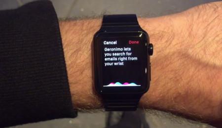 Geronimo en el Apple Watch