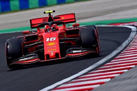 Leclerc Hungria F1 2019