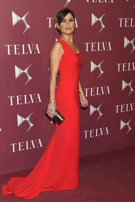 Elena Sanchez en la entrega de premios T de Telva