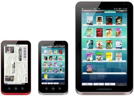 Las tabletas Sharp Galapagos ya están en la línea de salida