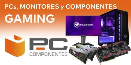 Ofertas gaming en PcComponentes: equipos de sobremesa, monitores y componentes a precios rebajados