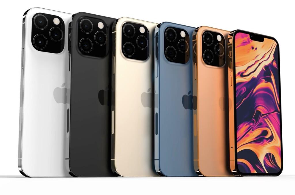 Pantalla ProMotion a 120Hz y autonomía un 20% mayor: DigiTimes se atreve con mas detalles de los iPhone trece Pro