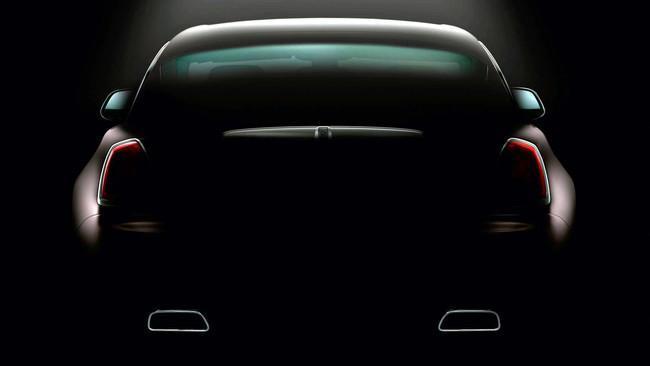 Rolls-Royce Wraith, teaser: zaga