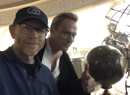 Ron Howard y Paul Bettany