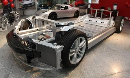 Bastidor del Tesla Model S