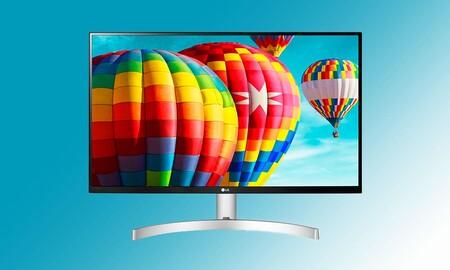 Si buscas monitor para trabajar tienes el LG 27MK600M-W a su precio más bajo hasta la fecha: ahórrate 60 euros y el envío comprándolo en Amazon