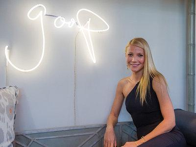 Gwyneth Paltrow reconoce en un programa de televisión que los consejos que dan en Goop son tonterías