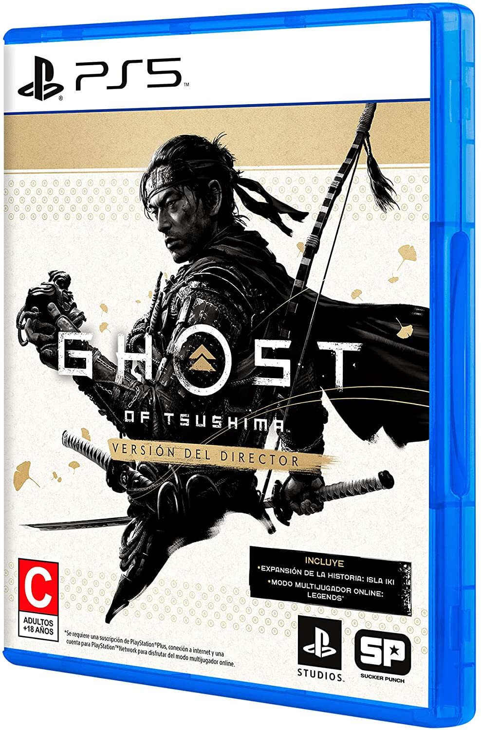 Ghost of Tsushima Director'S Cut - Standard Edition - Playstation 5