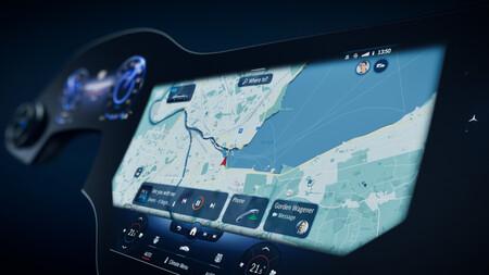 Mercedes-Benz MBUX Hyperscreen 4