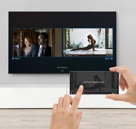 Promoción de pantalla 4K de Samsung en Amazon México