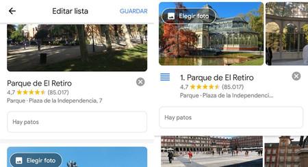 Google Maps mejora sus listas de lugares ante el inminente cierre de Google Trips