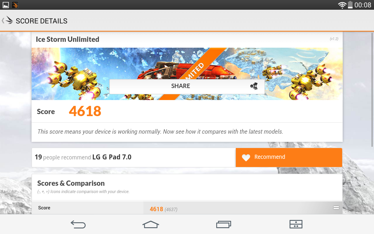 Foto de LG G Pad 7.0, benchmarks (14/18)