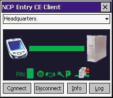 NCP Entry, acceso remoto a VPN