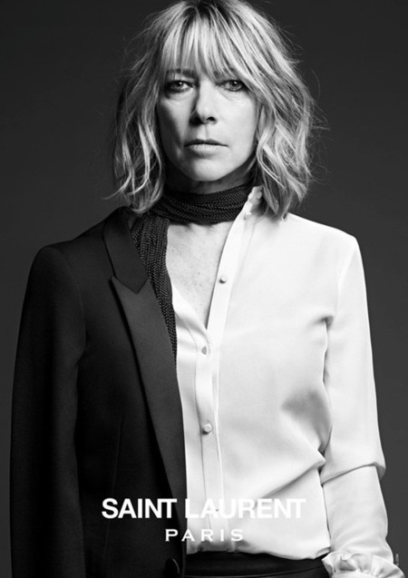 kim gordon saint laurent