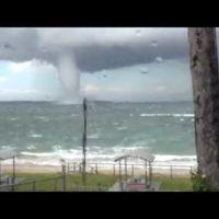 [Vídeo] Impresionante tromba marina en Australia