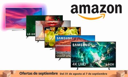 9 smart TVs de LG, Philips, Samsung y Sony que te saldrán más baratas en las ofertas de septiembre de Amazon