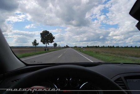 Alguien que no sabe conducir Perderse por una carretera