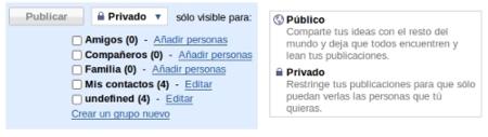 Google Buzz privacidad