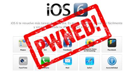 Jailbreak de iOS 6 disponible antes incluso de su lanzamiento