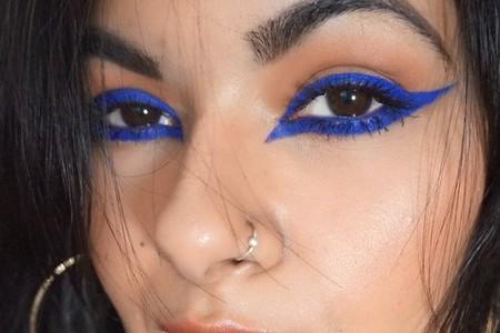 Eyeliner Azul Cobalto 8