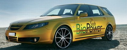 Saab 9-5 BioPower, por Rinspeed