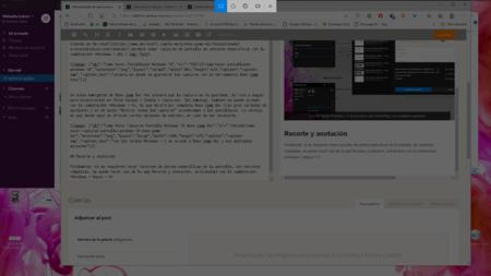 Capturas Pantalla Windows 10 Recorte Anotacion