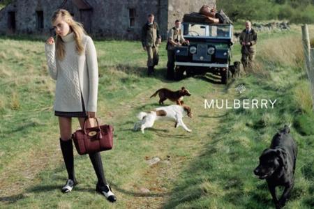 Cara Delevingne campaña Otoño-Invierno 2014/2015 de Mulberry