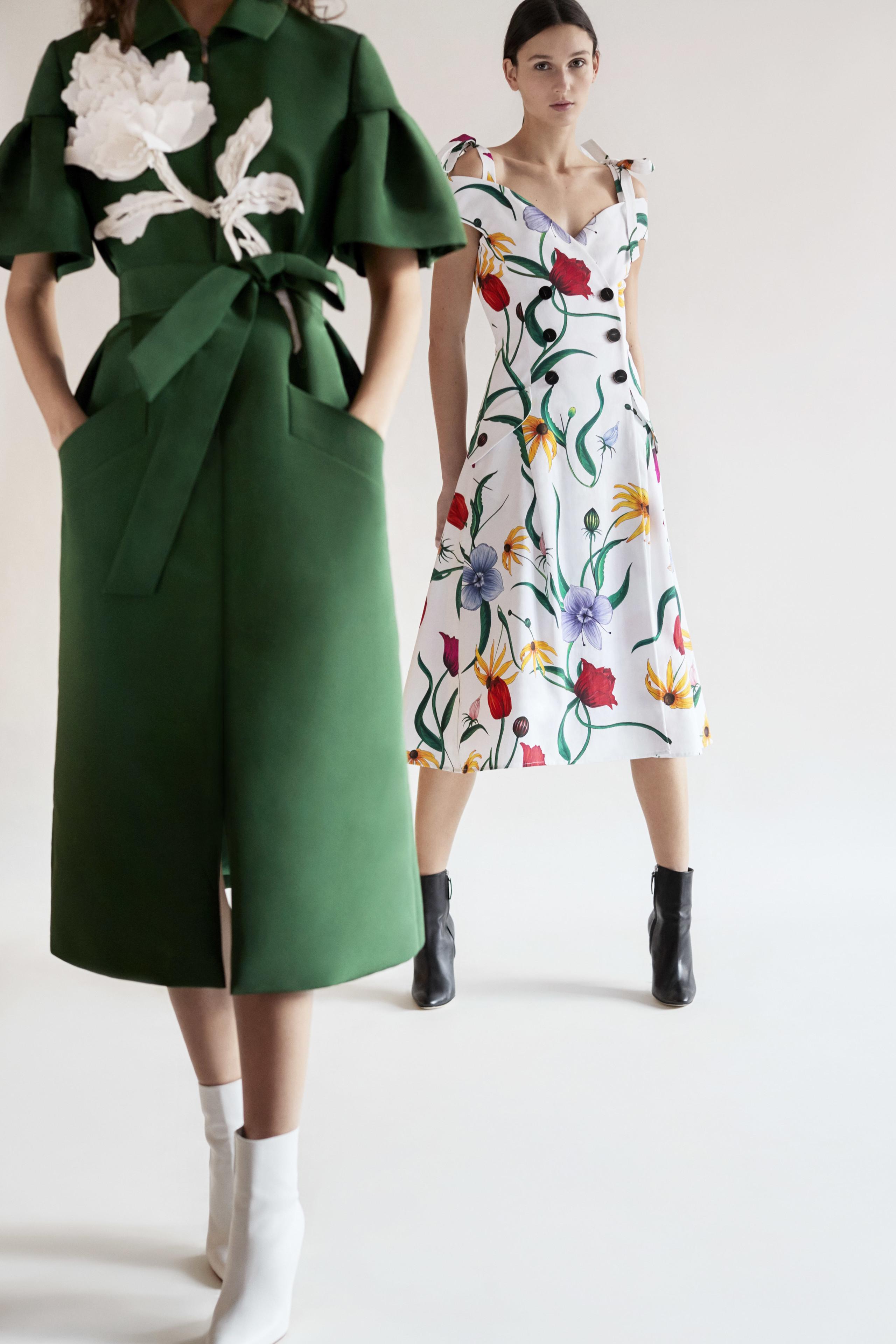 Carolina Herrera NY Pre Fall 2018: una maravillosa colección de Alta Costura