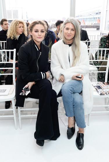 ¡Las celebrities no se pierden ni un front row de la Semana de la Moda de Nueva York!