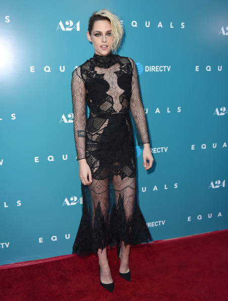 Kristen Stewart Estreno Equals Los Angeles Jonathan Simkhai Resort 2017 2