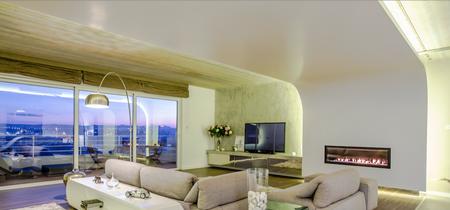 Futurista y acogedor: Así es este increíble ático situado en un edificio industrial de Malta