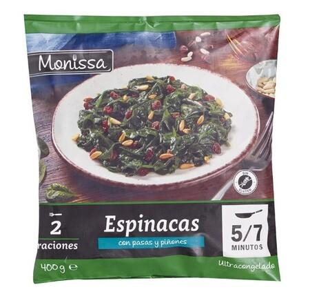 Espinacas Lidl
