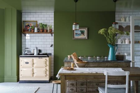 Una salón de colores orgánicos: la epidemia dispara las ventas de pinturas azules y verdes