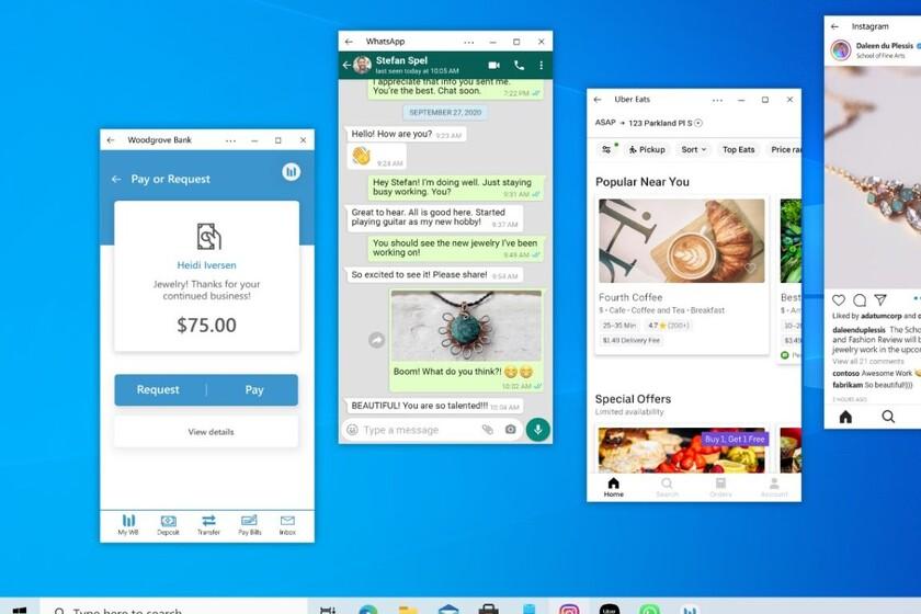 Microsoft está trabajando en que Windows 10 ejecute aplicaciones de Android: así es Project Latte, según Windows Central