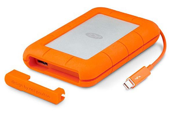 Si buscas un disco externo, resistente y con Thunderbolt, echa un vistazo al nuevo SSD de 1 TB de LaCie