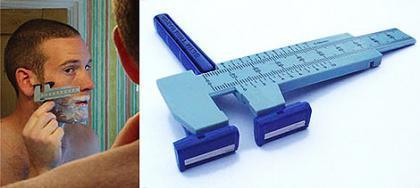 Afeitado milimetrado con un 'gadget' nuevo: patillas perfectas