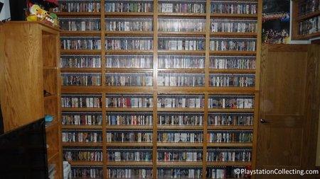 Imagen de la semana: la mayor colección de juegos NTSC de Playstation 2 de la historia