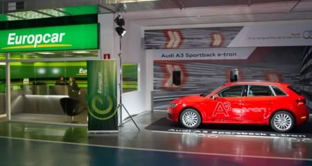 En Barcelona podrás alquilar pronto un Audi A3 e-tron con Europcar