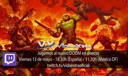 Jugamos en directo al nuevo DOOM a partir de las 18:30h (finalizado)